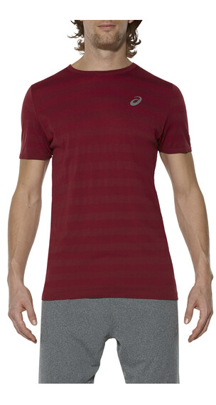 asics fuzeX Seamless Tee Men Pomegranate